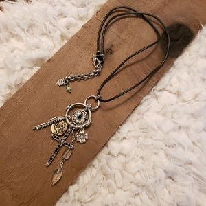 Lucky brand multi layer necklace